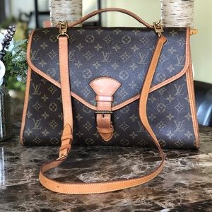 AUTH Louis Vuitton Beverly & Strap VINTAGE BEAUTY